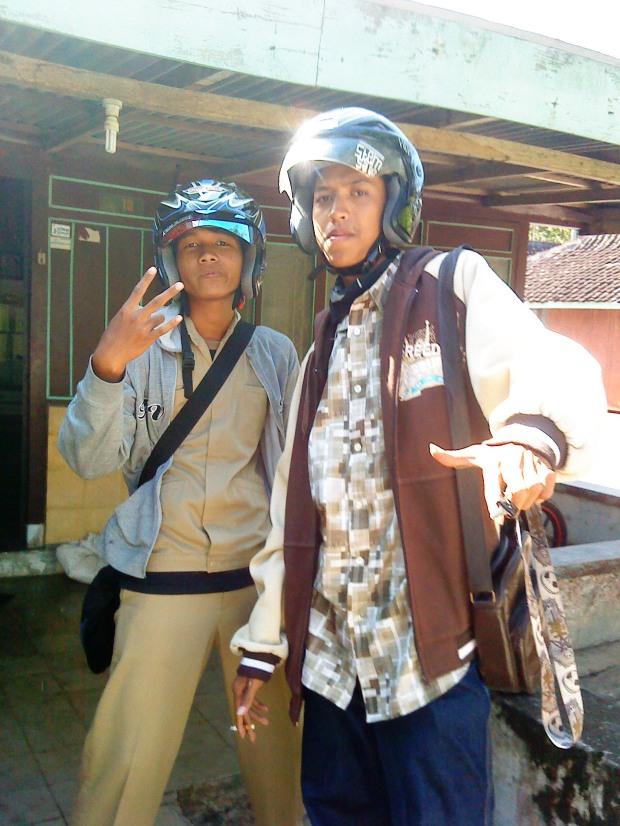 Foto sewaktu gue sama Irfan PKL bareng
