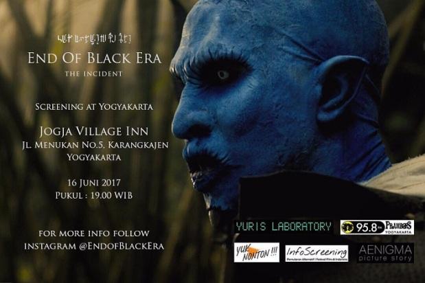 Poster End Of Black Era