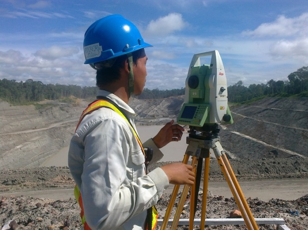 Survey Slope Tambang