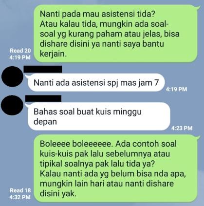 Chat Menyebalkan