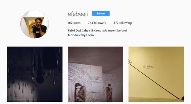 Instagram Efebeeri