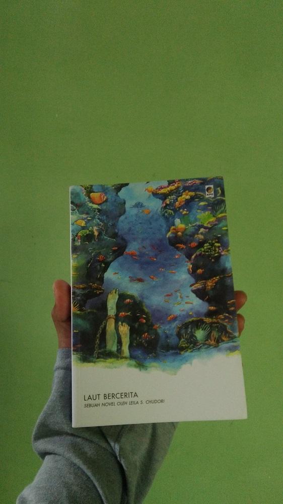 Novel Laut Bercerita