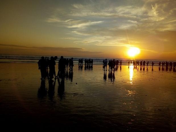 Senja Parah Pantai Kuta