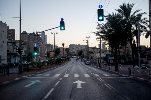 Pemandangan Jalan Raya Indah