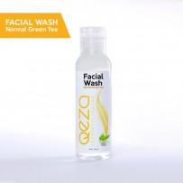Qeza Facial Wash Normal Green Tea With Whitening Extract Duduw