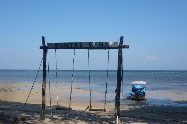 Ayunan Pantai Bama Taman Nasional Baluran