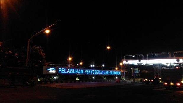 Bagian Depan Pelabuhan Gilimanuk
