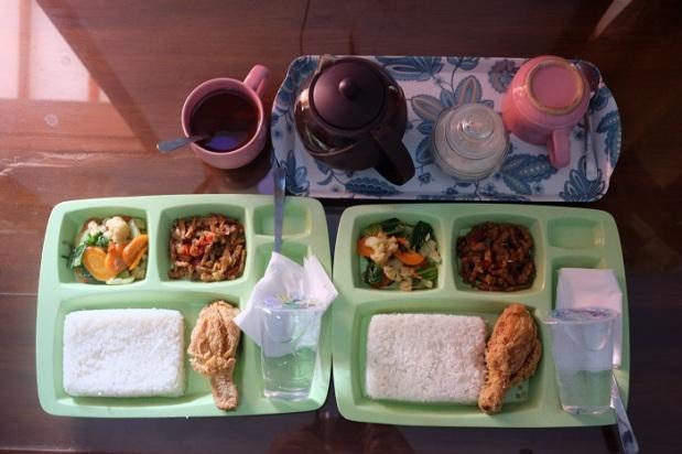 Makanan di Bima Homestay