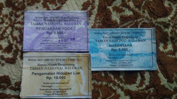 Tiket Masuk Taman Nasional Baluran