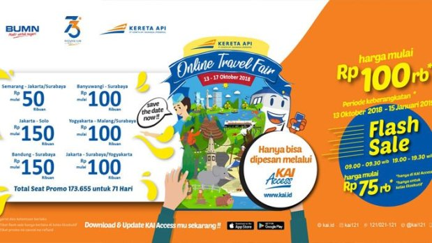 Promo KAI Travel Fair