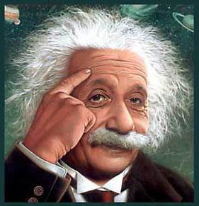Einstein Mikir