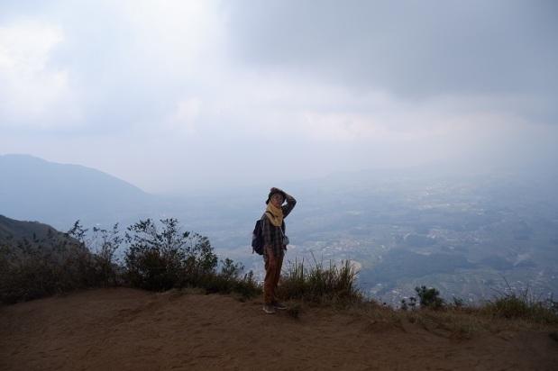 Gunung Andong Dari Atas