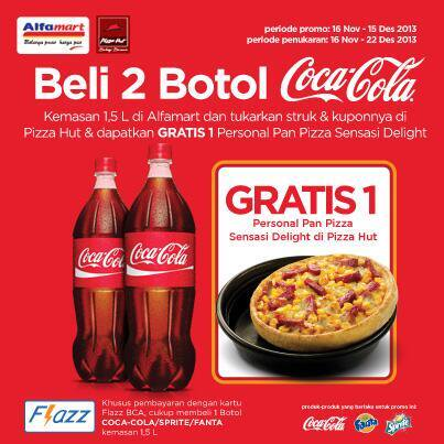 Beli Cocacola Berhadiah Pizza