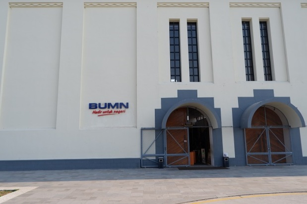 Pintu Masuk Gedung De Tjolomadoe