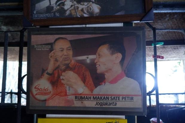 Foto Sate Petir Pak Nano