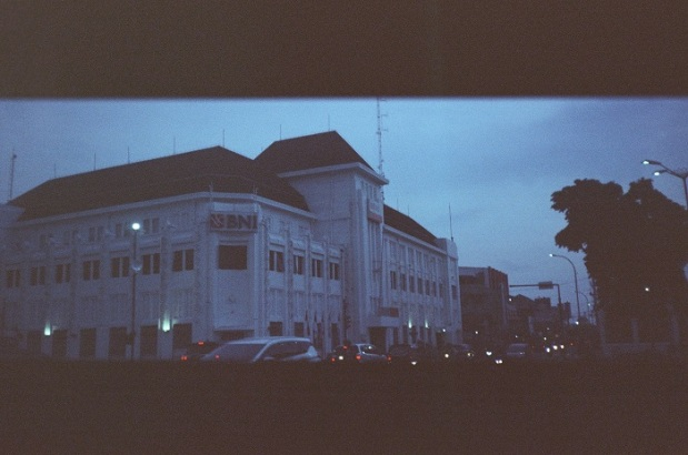 landscape Kamera Analog Fujifilm Mdl 55